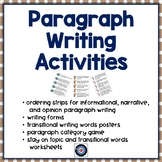 Paragraph Writing with Transitional Words