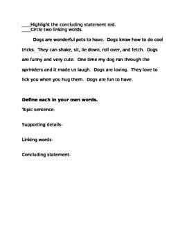 Paragraph format