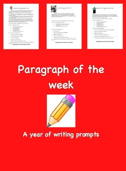 Paragraph of the Week - 1 year of prompts