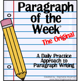 Paragraph of the Week   Paragraph Writing