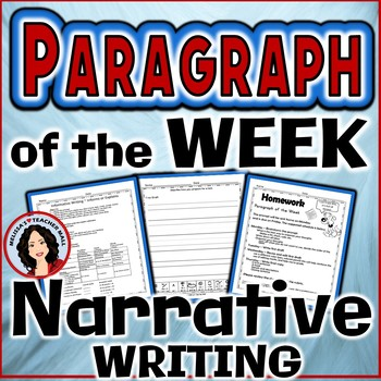 Paragraph of the Week, Narrative Writing