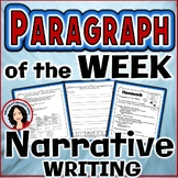 Paragraph of the Week Narrative Writing