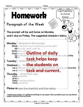 Paragraph of the Week Opinion Writing