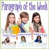 Paragraph of the Week Bundle Google Slides Included for Di