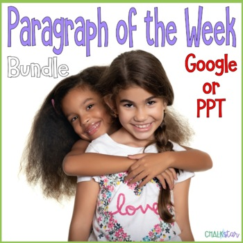 Paragraph of the Week Bundle Google Slides Version