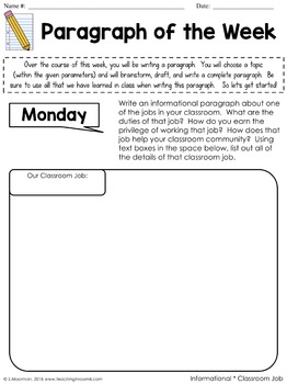 DIGITAL:  Paragraph of the Week Volume 2