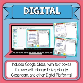 Paragraph of the Week Differentiation Bundle for Grades 2-3 Distance Learning