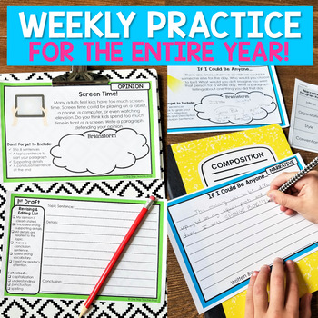Paragraph of the Week | Paragraph Writing Prompts | GOOGLE Classroom