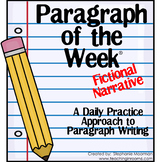 Paragraph of the Week:  Fictional Narrative