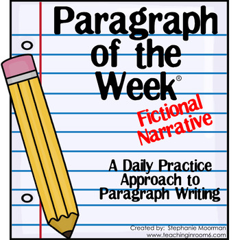 Paragraph of the Week:  Fictional Narrative Prompt Assisted