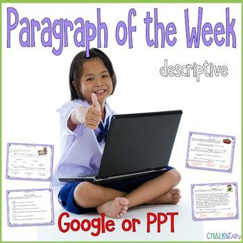 Paragraph of the Week Google Slides Version