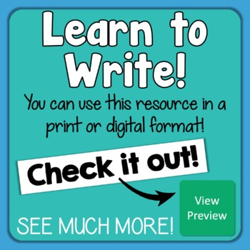 Paragraph of the Week - Paragraph Writing with 60 Writing Prompts + Organizers