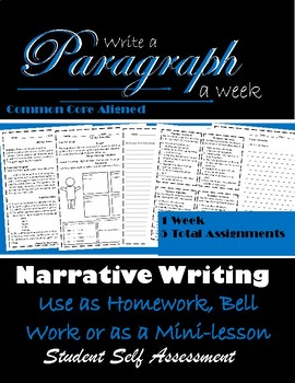 Paragraph Writing: Paragraph of the Week: Narrative