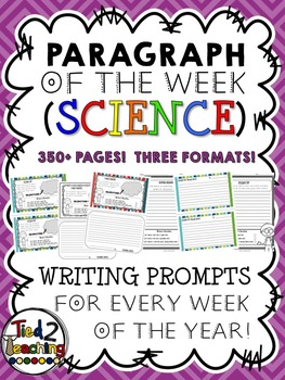 Paragraph of the Week (Science) FULL YEAR