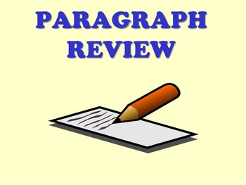 Paragraph writing review