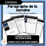 Paragraphe de la semaine || Distance Learning FRENCH PARAG