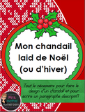 Paragraphe descriptif (Ugly Christmas Sweater Descriptive Paragraph in French)