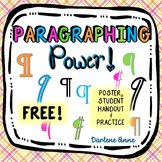 Paragraphing {Free!}