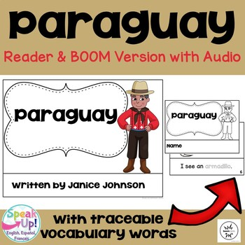 Paraguay Reader {English Version} & Vocab pages ~ Simplified for Young Learners