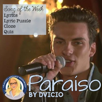 Paraiso by Dvicio Spanish Song Activities Packet