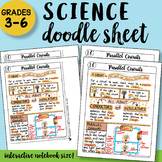 Parallel Circuits Doodle Sheet - So Easy to Use!