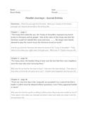 Parallel Journeys Holocaust Unit Journal Entries