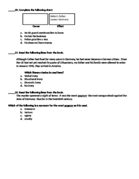 Parallel Journeys Test (PARCC Aligned)