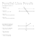 Parallel Line Proofs