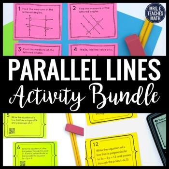 Parallel Lines Activity Bundle