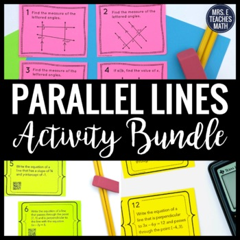 Parallel Lines Activity Bundle