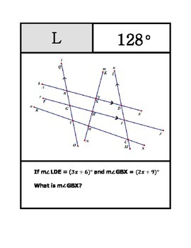 Parallel Lines, Angles, and Algebra