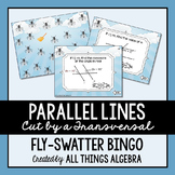 Parallel Lines, Transversals, and Angles - Bingo Game