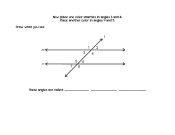 Parallel Lines Cut by a Transversal Lines