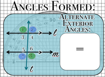 Parallel Lines Cut by a Transversal Powerpoint
