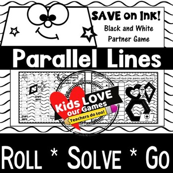 Parallel Lines GAME: Geometry Activity 4th Grade 4 G A 1
