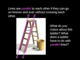 Parallel Lines - Powerpoint & Sorting Activity