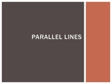 Parallel Lines Powerpoint