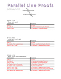 Parallel Lines Proofs