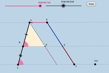 Parallel Lines Proportionality Theorem