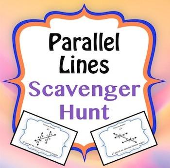 Parallel Lines Scavenger Hunt Game