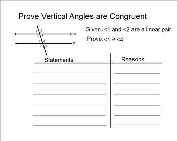 Parallel Lines & Transversals Proof
