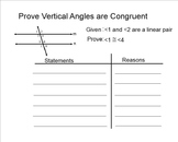 Parallel Lines & Transversals Proof