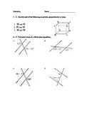 Parallel Lines Unit