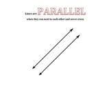 Parallel Lines Visual Aid