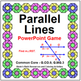 Parallel Lines - WIPE OUT! Powerpoint Game