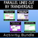 Parallel Lines and Transversals Activity Bundle