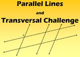 Parallel Lines and Transversals Challenge