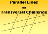 Parallel Lines and Transversals Challenge