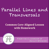 Parallel Lines and Transversals (Lesson with Homework)