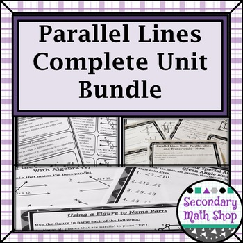 Parallel Lines and Transversals - Unit 3: Parallel Lines U